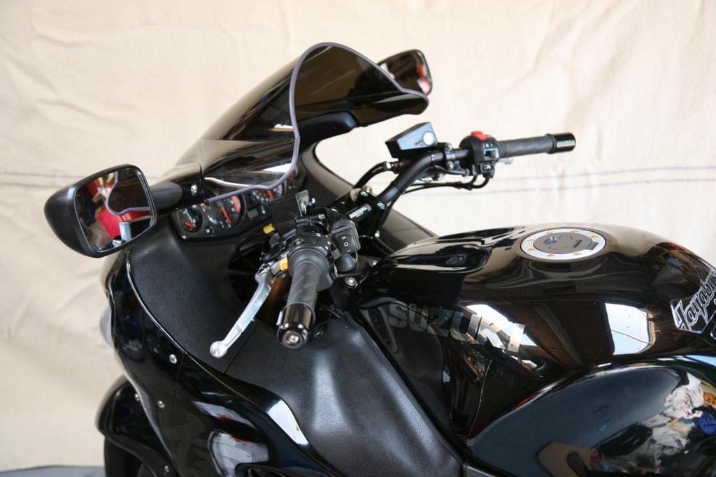 1999-2007 Suzuki GSX-R GSX1300R GSX1300 Handlebar Risers Clip-ons Clipons