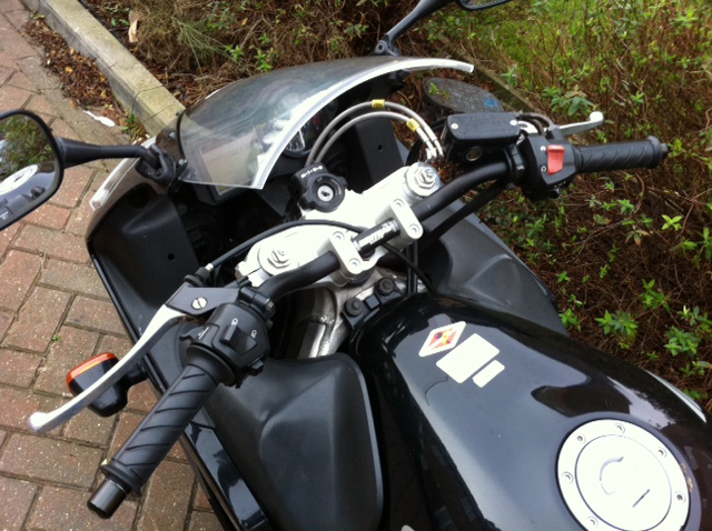Honda CBR 600 F Sport Top Yoke Conversion