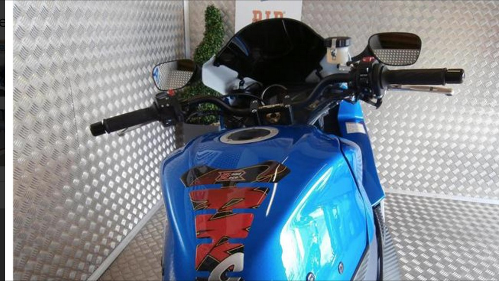 Suzuki GSXR 600 Top Yoke Conversion