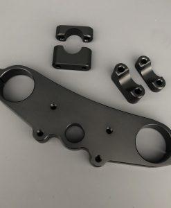 ZX6R Street Fighter Superbike Bar Riser yoke triple Conversion pour 46 mm Forks